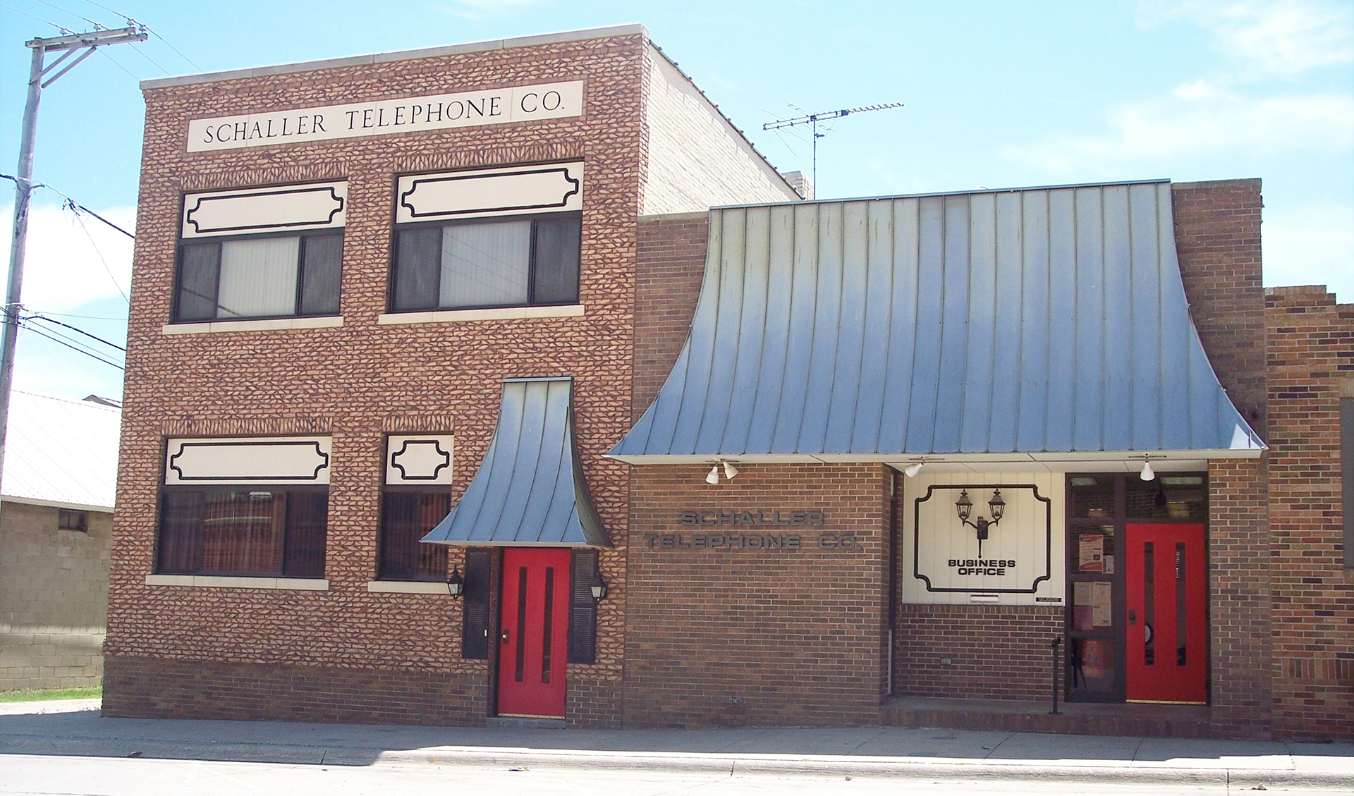 Schaller Telephone Company office